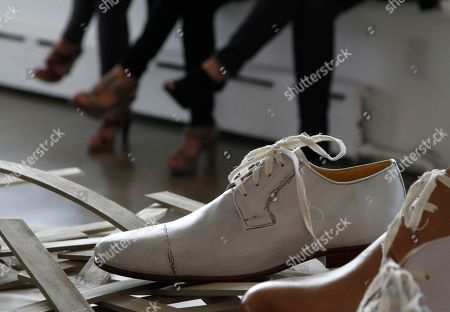 George Esquivel Shoes from designer George Esquivel's Spring/Summer 2011 collection are presented in New York