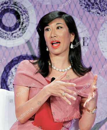 """Andrea Jung Avon Products, Inc., Chair and CEO Andrea Jung speaks at the """"Fortune Most Powerful Women Summit,"""", in Washington"""