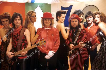 Editorial picture of Slade, Britain - 1970S