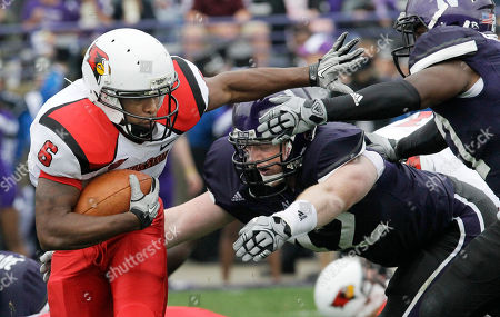 Editorial image of Illinois State Northwestern Football, Evanston, USA