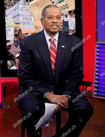 """Juan Williams News analyst Juan Williams appears on the """"Fox & friends"""" television program in New York"""