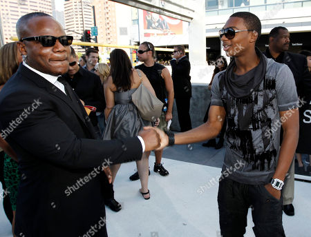Sean Garrett Sean Garrett, left, and a guest arrive at the MTV Video Music Awards on in Los Angeles