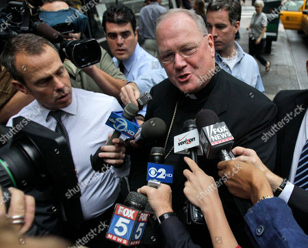 Timothy Dolan Catholic Archbishop Timothy Dolan speaks during a news conference before meeting with New York Gov. David Paterson in New York