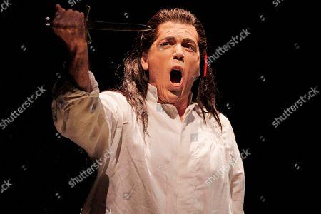 Editorial photo of Opera Macbeth, Chicago, USA