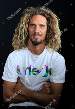 Rob Machado Surfer Rob Machado is seen during an interview, in Los Angeles