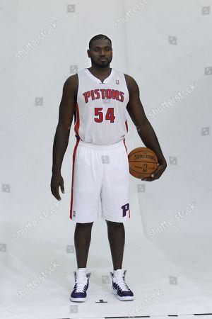 Jason Maxiell Detroit Pistons forward Jason Maxiell poses during media day at the team's practice facility in Auburn Hills, Mich