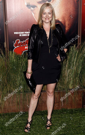 """Jennifer Irwin Actress Jennifer Irwin arrives at the premiere for the second season of HBO's """"Eastbound and Down"""" in Los Angeles"""