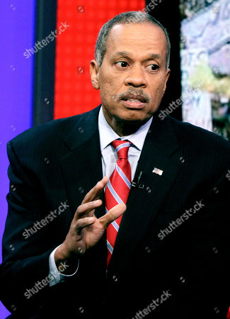 """Stock Photo of Juan Williams News analyst Juan Williams appears on the """"Fox & friends"""" television program in New York, . Williams, who has written extensively on race and civil rights in the U.S., has been fired by National Public Radio after comments he made about Muslims on Fox News Channel's """"The O'Reilly Factor,"""" on Monday"""
