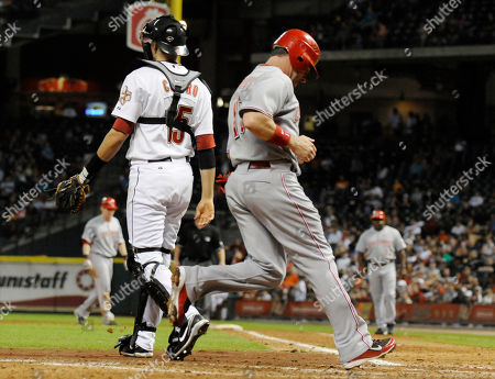 Editorial picture of Reds Astros Baseball, Houston, USA