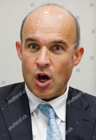 RIM Jim Balsillie, co-CEO of Research in Motion, speaks during an interview at The Associated Press, in New York