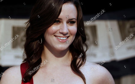 Katie Featherston Katie Featherston arrives at the Scream Awards, in Los Angeles