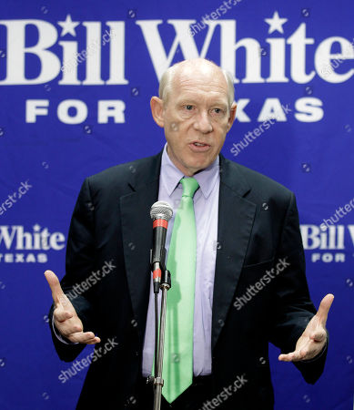 Bill White Democratic Texas gubernatorial candidate Bill White speaks during a news conference, in Houston. White commented on a published report that a campaign donor who has given $80,000 to Gov. Rick Perry since 2000 circumvented the usual vetting process but still received a $4.5 million award from a Texas technology fund. White has accused Perry of misusing his authority when awarding grants from the technology fund