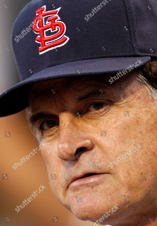 Tony LaRussa St. Louis Cardinals manager Tony La Russa watches during the Cardinals' 5-2 loss to the Pittsburgh Pirates in a baseball game in Pittsburgh on