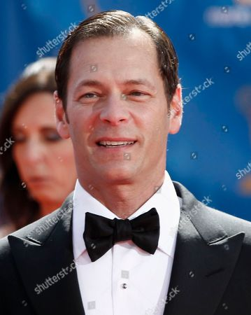 Stock Image of Jeff Gaspin Taken, Jeff Gaspin, chairman of NBC Universal Television Entertainment, arrives for the 62nd Primetime Emmy Awards in Los Angeles