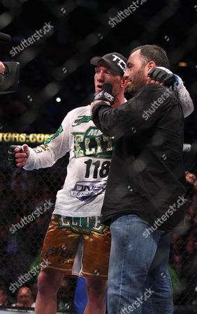 Gray Maynard Gray Maynard, left, is interviewed after his win over Kenny Florian after their UFC fight at the TD Garden on in Boston, MA. Maynard won via unanimous decision