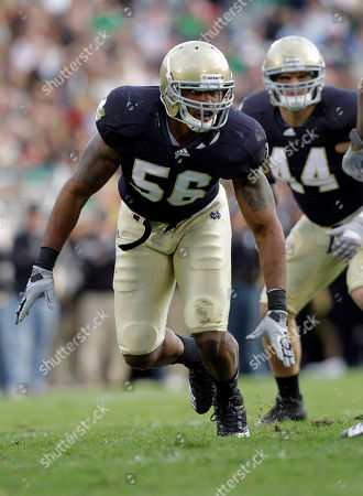 Kerry Neal Notre Dame linebacker Kerry Neal during the second half of an NCAA college football game against the Western Michigan in South Bend, Ind., . Notre Dame defeated Western Michigan 44-20