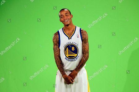 Monta Ellis Golden State Warriors' Monta Ellis during media day in Oakland, Calif