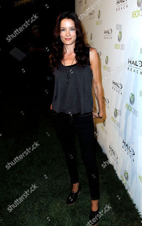Gina Holden Gina Holden arrives at the Halo: Reach launch party celebrated by Xbox 360 held at Rob Dyrdek's Fantasy Factory in Los Angeles on