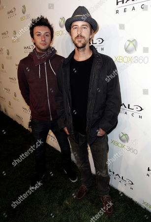 Chris Hesse, Doug Robb Doug Robb, left, and Chris Hesse of the band Hoobastank arrive at the Halo: Reach launch party celebrated by Xbox 360 held at Rob Dyrdek's Fantasy Factory in Los Angeles on