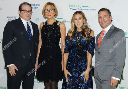 Stock Photo of Matthew Broderick, Madelyn Wils, Sarah Jessica Parker, Gregory Boroff
