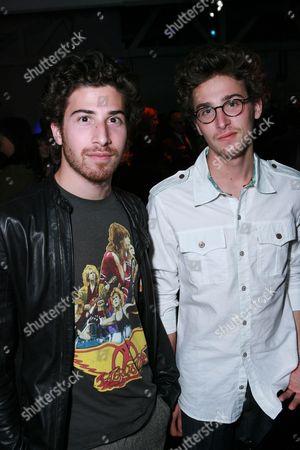 Stock Image of Jake Hoffman and Max Hoffman