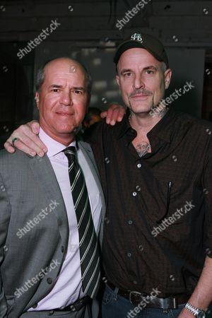 ICM's Jeff Berg and Director/Writer Nick Cassavetes