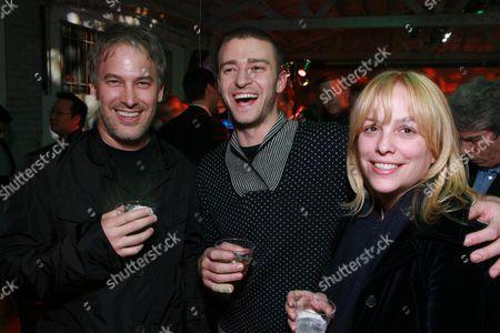 Rick Yorn, Justin Timberlake and Julie Yorn