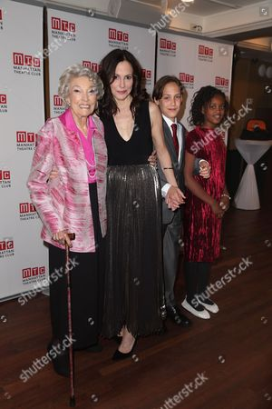 Caroline Parker, Mary-Louise Parker, William Atticus Crudup, Caroline Aberash Parker