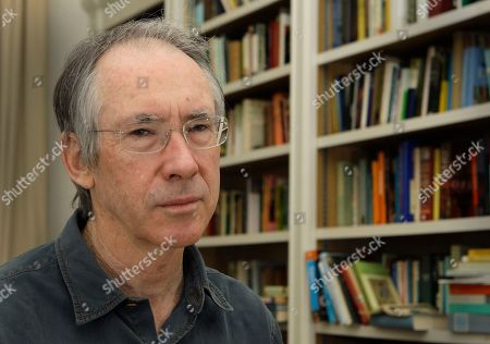 """Ian McEwan British author Ian McEwan poses for photographs, following an interview with AP at his home in central London. Fall is the time for """"big books,"""" whatever the page length, and some of the top fiction authors from around the world have new works coming for 2016, including Ian McEwan, Zadie Smith, Margaret Atwood, T.C. Boyle, Rabih Alameddine, Emma Donoghue, Jonathan Safran Foer and Michael Chabon"""