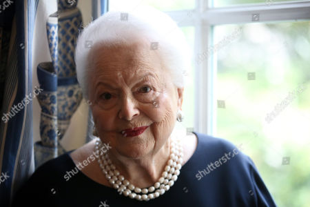 Editorial image of France Olivia de Havilland, Paris, France - 18 Jun 2016
