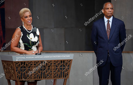 Linda Johnson Rice, Kenneth Irvine Chenault Linda Johnson Rice, left, Chairman, Johnson Publishing Company, Inc., and Publisher of Ebony and Jet magazines, at the dedication ceremony for the Smithsonian Museum of African American History and Culture on the National Mall in Washington, . With Rice on stage is Kenneth Irvine Chenault, right, CEO and Chairman of American Express