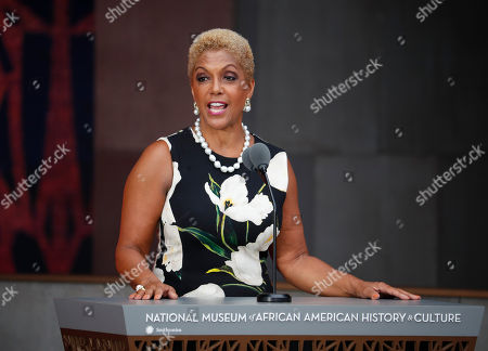 Linda Johnson Rice Linda Johnson Rice, Chairman, Johnson Publishing Company, Inc., and Publisher of Ebony and Jet magazines, speaks at the dedication ceremony for the Smithsonian Museum of African American History and Culture on the National Mall in Washington
