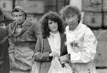 """Gilda Radner, Gene Wilder Gilda Radner, center, and Gene Wilder, right, perform in a scene from the film """"Hanky Panky,"""" directed by Sidney Poitier in Boston. Wilder's nephew said, that the actor and writer died late Sunday at his home in Stamford, Conn., from complications from Alzheimer's disease. He was 83"""