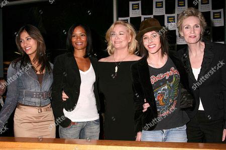 Janina Gavankar, Rose Rollins, Cybill Shepherd, Katherine Moennig and Jane Lynch