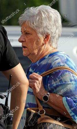 Stock Photo of Dottie Sandusky Dottie Sandusky, wife of former Penn State University assistant football coach Jerry Sandusky arrives at the Centre County Courthouse for his appeals hearing about whether he was improperly convicted four years ago, in Bellefonte, Pa