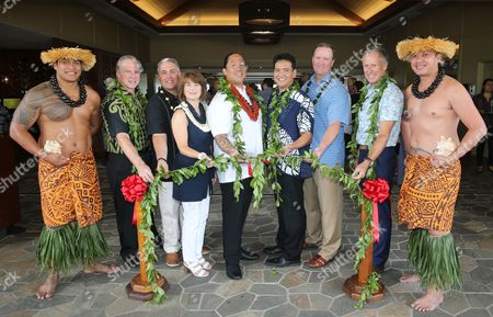 Editorial picture of Residence Inn Marriott Maui Wailea Grand Opening, Wailea, USA - 25 Jan 2012