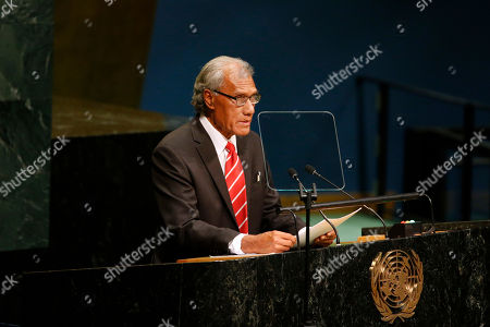 Samuela Akilisi Pohiva Tonga's Prime Minister Samuela Akilisi Pohiva addresses the 71st session of the United Nations General Assembly at U.N. headquarters