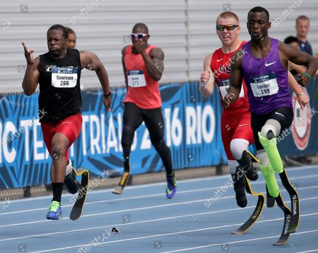 Editorial image of US Paralympic Trials, Charlotte, USA - 1 Jul 2016