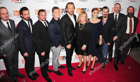 Darren Aronofsky, Pablo Larrain, Scott Franklin, Mickey Liddell, Peter Sarsgaard, Natalie Portman, Max Casella, Noah Oppenheim, Ari Handel