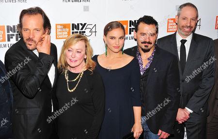 Peter Sarsgaard, Natalie Portman, Max Casella, Noah Oppenheim