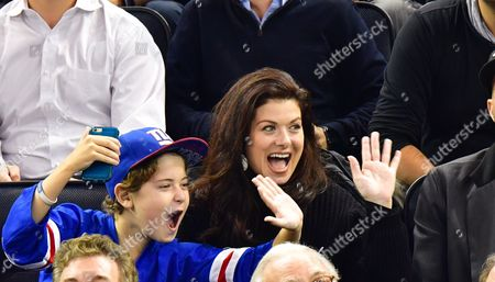 Debra Messing and son Roman Walker Zelman