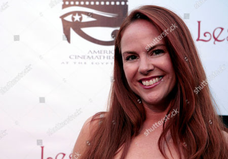 """Lisa Cash Actress Lisa Cash poses at the screening of """"2001 Maniacs: Field of Screams"""" in Los Angeles"""