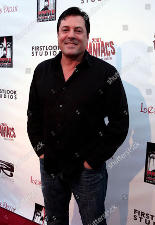 """Jeff Rector Actor Jeff Rector poses at the screening of """"2001 Maniacs: Field of Screams"""" in Los Angeles"""
