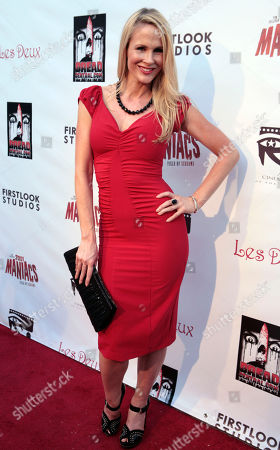 """Chanel Ryan Actress Chanel Ryan poses at the screening of """"2001 Maniacs: Field of Screams"""" in Los Angeles"""