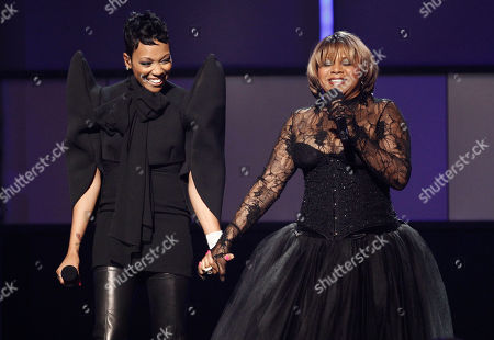 Monica, Deniece Williams Monica and Deniece Williams perform at the BET Awards on in Los Angeles