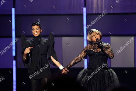 Monica, Deniece Williams Monica, left, and Deniece Williams perform at the BET Awards on in Los Angeles