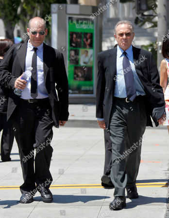 Donald Bren, Jon Freund Billionaire developer Donald Bren, right and his attorney Jon Freund return to Los Angeles Superior Court after the lunch break . Bren is being sued for child support by his two grown children from his former girlfriend. The children, 18 and 22, are each seeking retroactive support of $400,000 a month from the Irvine Co. chairman