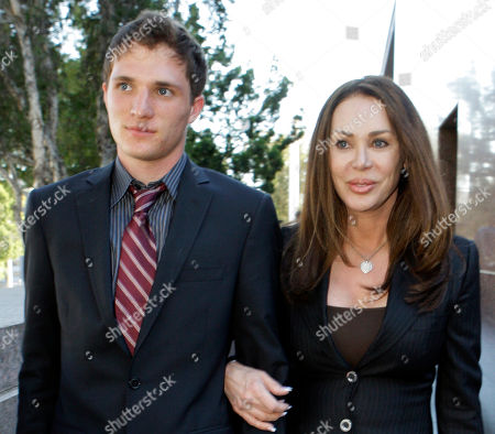 Jennifer Gold, David Leroy Bren Jennifer Gold and her son David Leroy Bren, whose father is billionaire developer Donald Bren, leave Los Angeles Superior Court . Donald Bren is being sued for child support by his two grown children from Gold, his former girlfriend. The children, David, 18 and Christie Alexis Bren, 22 (not shown) are each seeking retroactive support of $400,000 a month from the Irvine Co. chairman