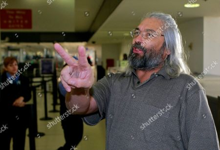 Gary Faulkner Gary Faulkner gets ready to board a connection flight, back home to Colorado, on Wednesday afternoon, after arriving at Los Angeles International Airport, in Los Angeles. Faulkner on a solo mission to hunt down Osama bin Laden is back in the United States, 10 days after authorities found him in the woods of northern Pakistan with a pistol, a sword and night-vision equipment