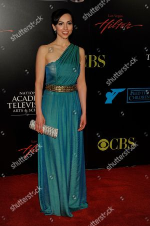 Stock Image of Eden Riegel Eden Riegel arrives at the 37th Annual Daytime Emmy Awards, in Las Vegas
